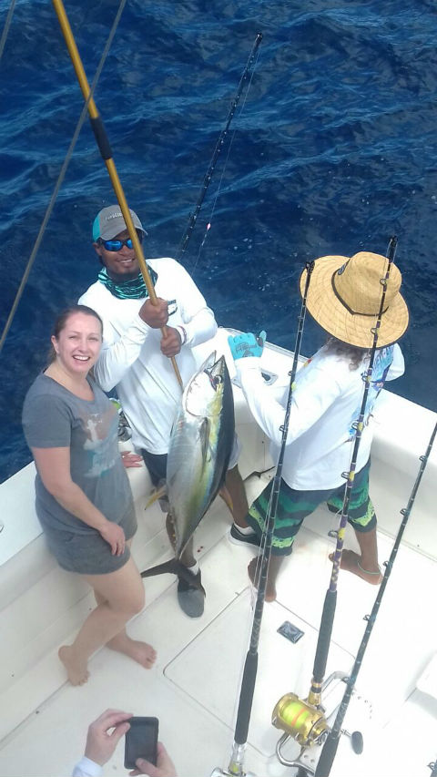 tuna fishing in costa rica